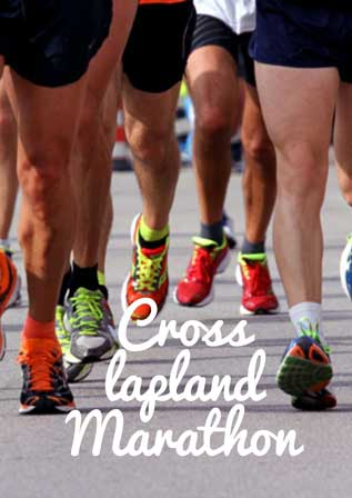 cross lapland marathon run